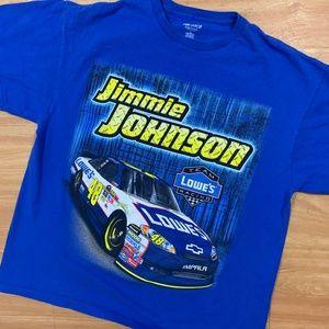Jimmie Johnson Double Sided NASCAR Shirt XL